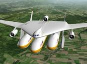 projet 'Clip Air' avion transport capsules