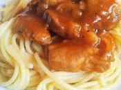 Spaghettis porc texane