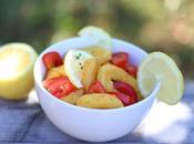 Calamars tomate citron