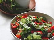 Salade crudités thaïe