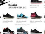 Nike Releases Septembre/Octobre 2013