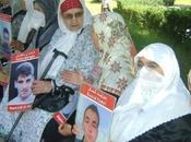 police réprime rassemblement familles disparus arrête militant Hacene Ferhati
