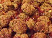 Boulettes boeuf sauce aigre-douce