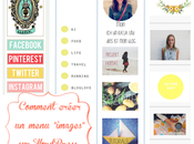 "Comment créer menu ""images"" WordPress"