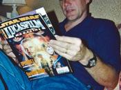 Johnston avec Lucasfilm Magazine