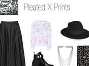 Pleated prints