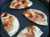 Naans fromage chorizo (Cheese Naan) Student Food