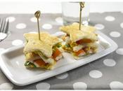 Club sandwich Petits Coraya, crème maïs poivrons