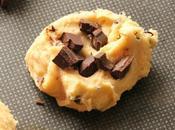 Grands cookies chocolat noir
