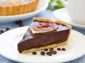Tarte chocolat figues