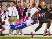 miettes vendredi Bills, Browns autres nouvelles