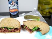 Sandwich pastrami cresson