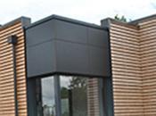 bardage bois 'Cosylva'*, certifié* solution économique pour maison individuelle