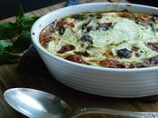 Clafouti courgettes menthe