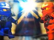 Combat Lego ninja Stop Motion