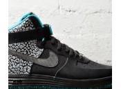 Nike Lunar Force High No-Sew Black Leopard