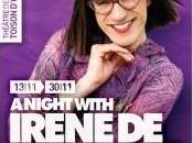 places sont gagner pour Night with Irène Langelée