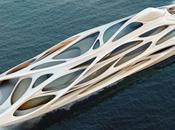 Monde Neptune architecte Zaha Hadid Blohm Voss signent bateau digne d'un Dieu