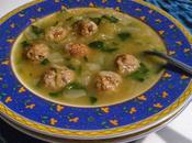 Soupe boulettes courge spaghetti Ricardo