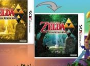 jaquette deux faces pour Legend Zelda: Link Between Worlds