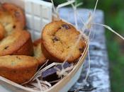 Muffins chocolat blanc pépites noir