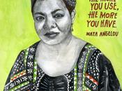 Vous pouvez épuiser créativité Maya Angelou