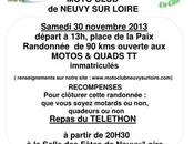 Rando Téléthon Quads motos Neuvy Loire (58) 30-11-13