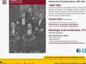 Avant-dernière conférence Carlos Ríos Museo Casa Gardel l'affiche]