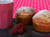 Muffins ultra moelleux framboise