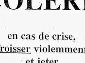 """Carnet """"Bon colère"""""""