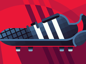 L'évolution Predator d'Adidas dessin