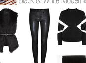 Wishlist black white modernist look