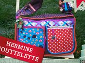 Hermine Gouttelette, création textile
