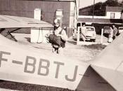 Parachutisme Auster l'Aéroclub Normandie 1965