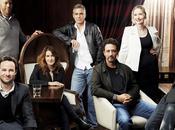 table ronde avec scénaristes hollywoodiens plus influents