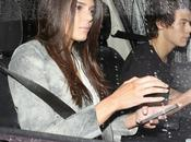 Kendall Jenner Harry Styles voiture après souper Craig's Restaurant West Hollywood 20.11.2013