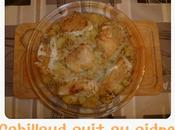 Cabillaud cuit cidre