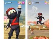 Clumsy Ninja enfin disponible l'App Store