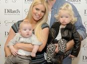 Jessica Simpson, Eric Johnson leurs enfants lancement nouvelle collection Simpson Dallas 23.11.2013