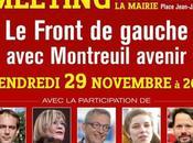 novembre: Grand meeting Montreuil Avenir