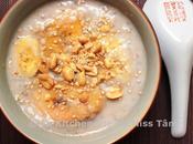 Bananes lait coco perles tapioca (Chè chuối Chuối chưng)