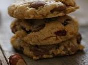 cookies chocolat lait cranberries séchées