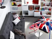 tendances déco dans chambres d'ados: diva, rock london