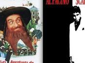 Scarface avec répliques film Aventures Rabbi Jacob