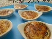 Noël 2013, idée apéritif, mini crèmes brûlées foie gras