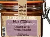 Foie gras, pizza saucisson comptoir Mathilde vous régale