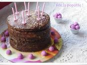 Gâteau d'anniversaire pour voir toutes couleurs