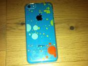 Test Coque Splatter pour iPhone