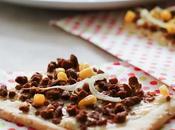Pizza haché végétal, maïs oignon