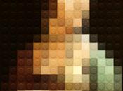 artiste reproduit toiles maitres Lego